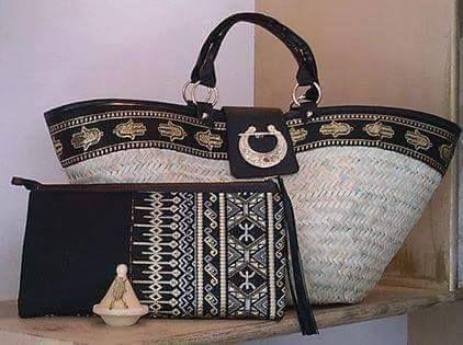 Coffin traditionnel et sac à main ~berbère~