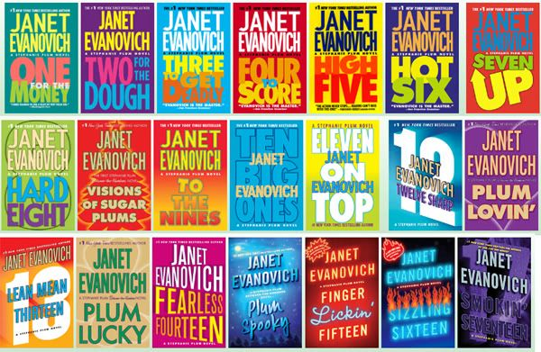 I laugh so hard every time I read these books... Janet Evanovich