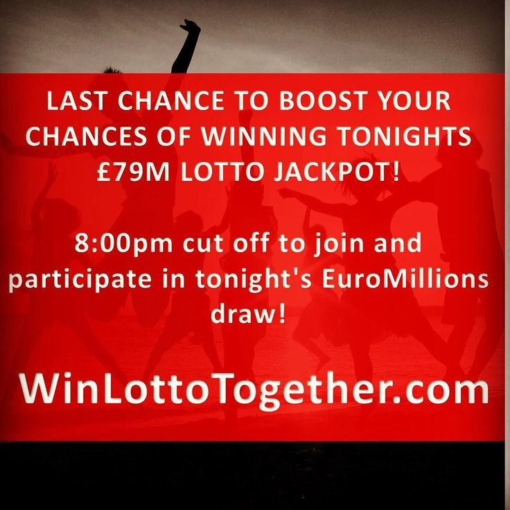 #win #euromillions #tonight #lottery #lotto #ff #winning #together #instafollow #instagood