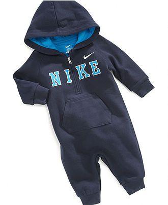 Nike Baby Coverall, Baby Boys Fleece Coverall - Kids - Macy's
