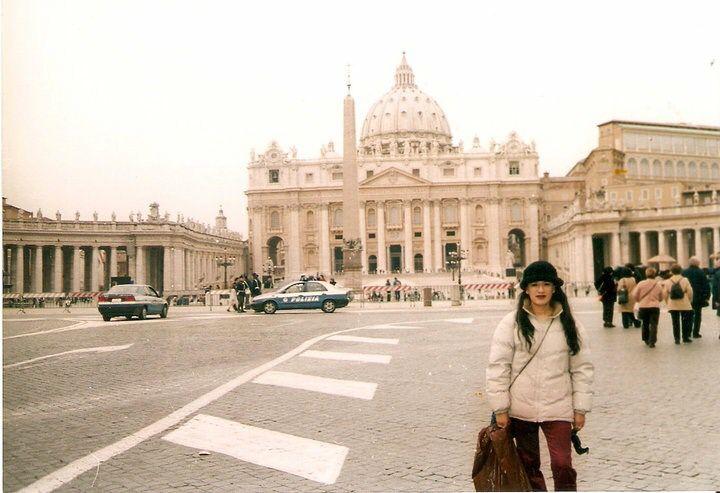 El Vaticano. La Catedral y plaza de San Pedro.