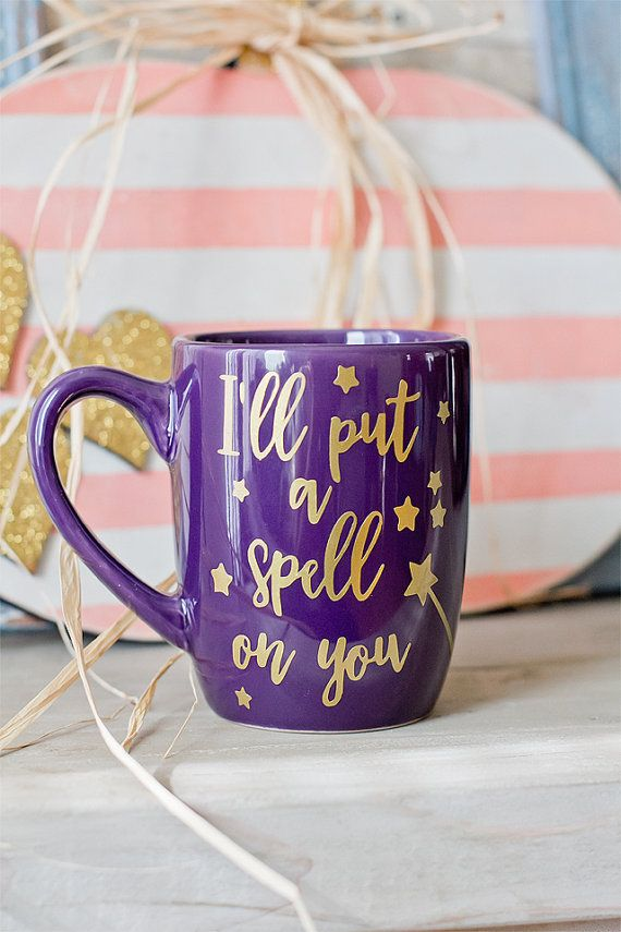 I'll put a spell on you//Hocus Pocus Coffee by Heartoffaithdesigns