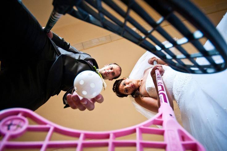 Floorball Wedding