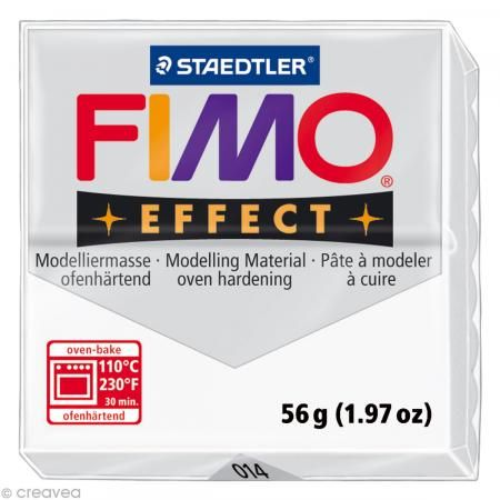 Fimo Effect Translucide 014 - 56 gr - Photo n°1