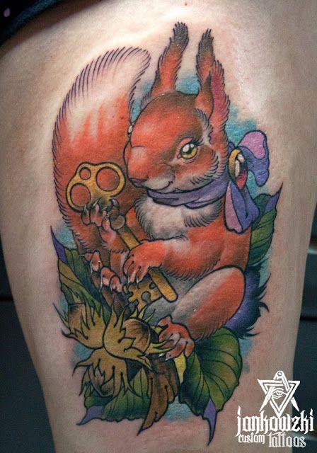 Jankowzki custom Tattoos: Neo traditional tattoos