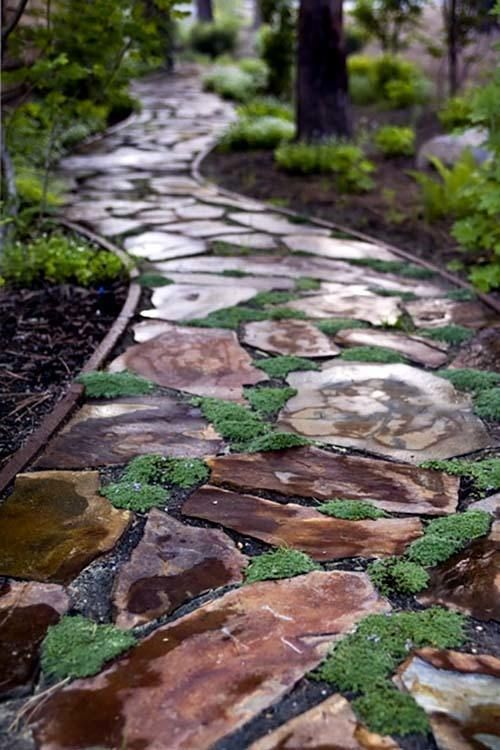 Backyard Pathways 353 best paths images on pinterest | garden ideas, landscaping and