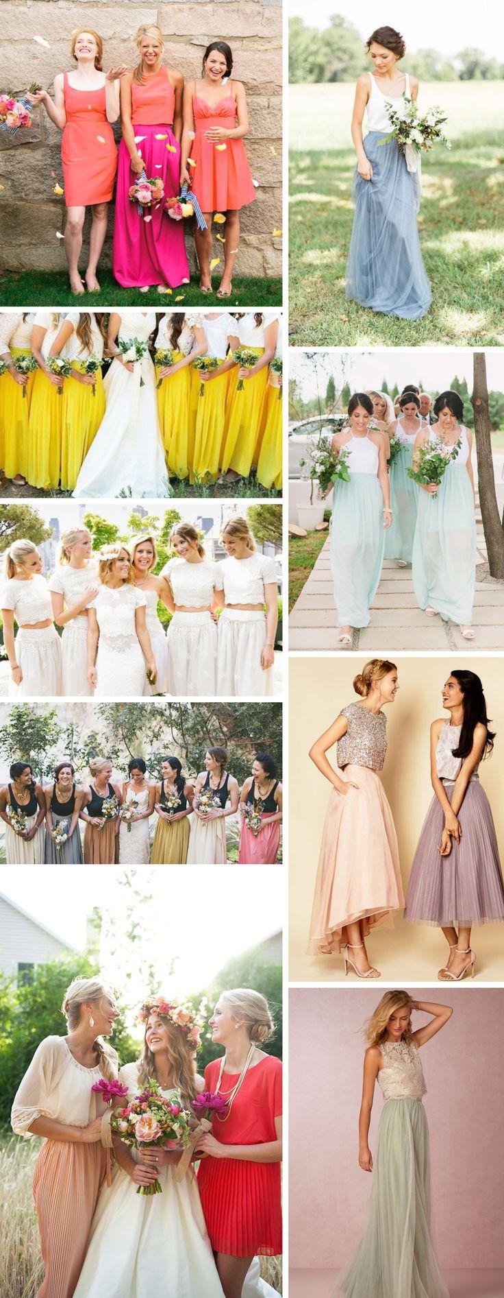 Cute Skirt Bridesmaid Dresses Your Girls Are Sure To Love! http://www.beaconln.com/blog/