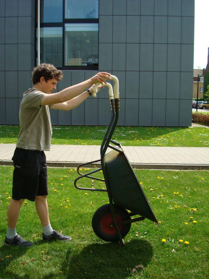 Wheelbarrow Handles by Kevin Durant at Coroflot.com