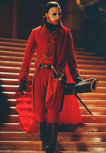 """Red Death in """"Masquerade"""" of the 2004 film. Work it Gerard.~AD"""