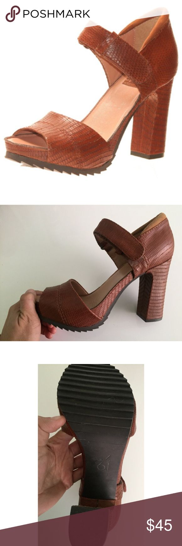 "BACIO 61 Vivezza Mary Jane Pump Leather 7.5 Retro Vivezza  mary jane platform pump leather upper rubber sole heel height 3.75"" platform height 1"" great condition! BACIO 61 Shoes Platforms"