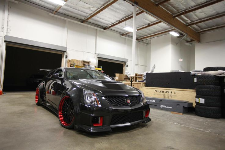 Cadillac CTS-V Coupe, Wide body kit, monster horsepower ...