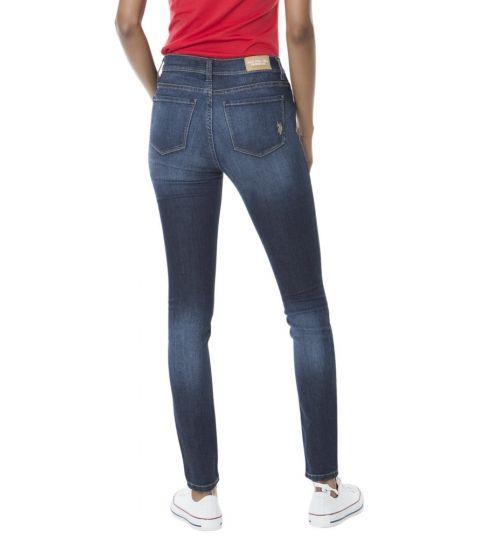 Promotie • Imbracaminte Femei US Polo Assn Stretch Skinny Fit Jean Blue