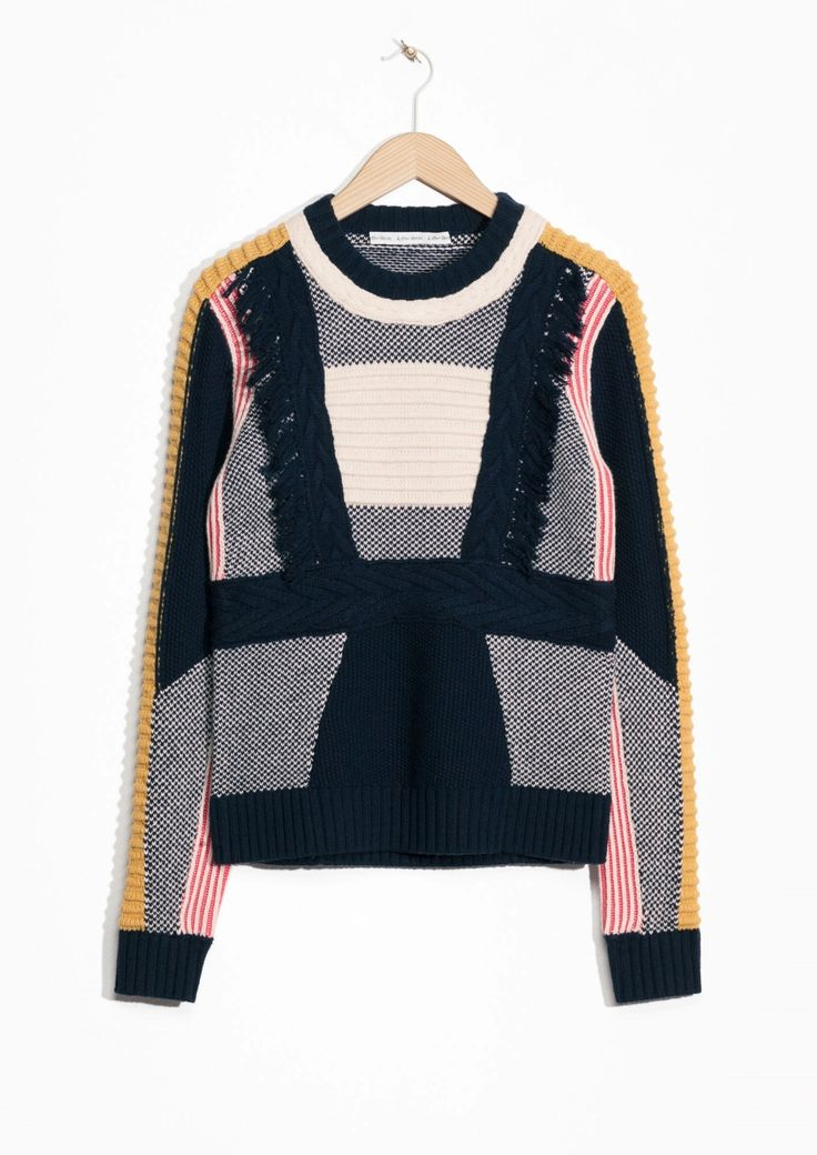 & Other Stories | Textured-Knit Sweater
