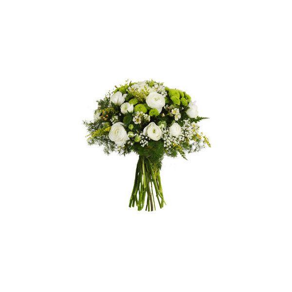 Faxiflora - Allegri Bouquet Di Fiori - Bouquet Bianco E Verde ❤ liked on Polyvore