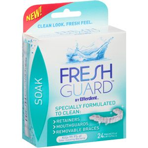 Fresh Guard by Efferdent Appliance and Retainer cleaner