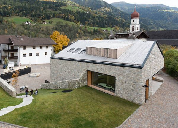 Community centre in South Tyrol by Andreas Flora