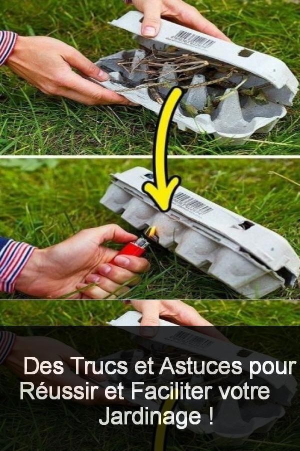 Des Trucs et astuces pour réussir et faciliter votre jardinage !