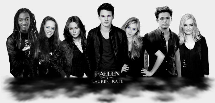 Fallen angel cast of Fallen Movie  Lucinda Price, Daniel Grigori, Cam Briel, Gabbe Gicens, Arriane Alter, Roland Sparks & Molly Zane.  Lauren Kate - Fallen/Oscuros