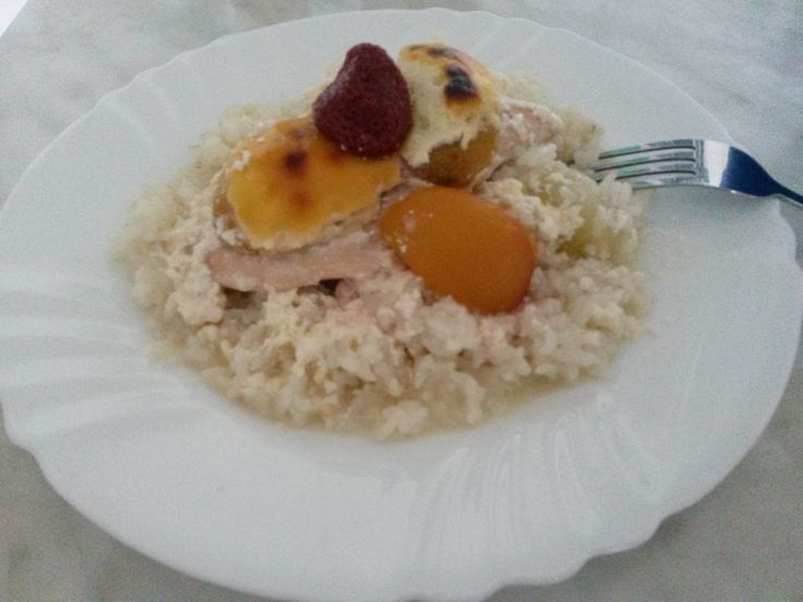 Zapekané kuracie prsia s ovocím