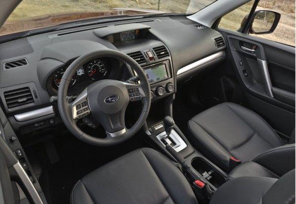 2014 Subaru Forester ElegantInterior 600x414 2014 Subaru Forester Full Reviews