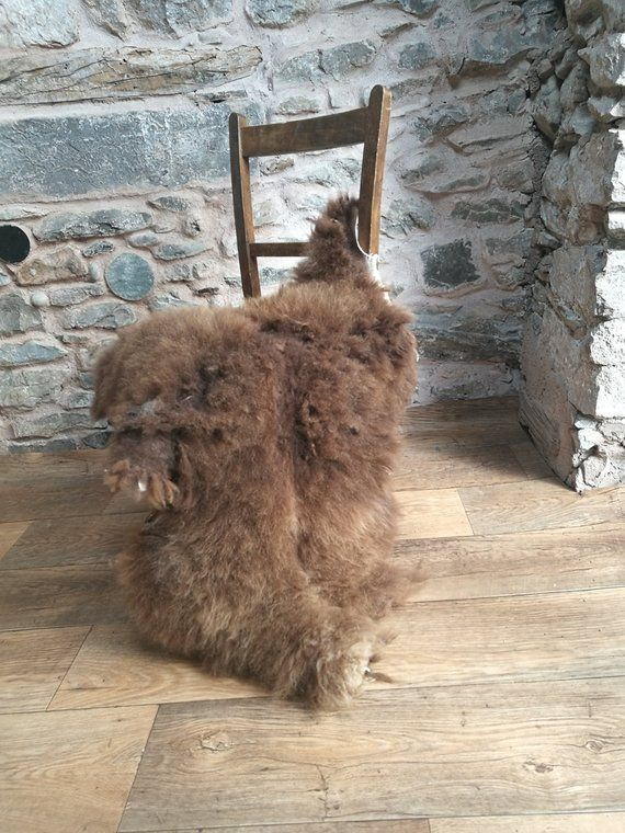 Soay Sheepskin Rug Rare Breed