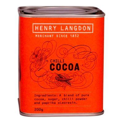 Chilli Cocoa Tin 200g