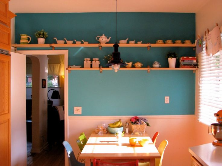 Carnations Pink Wall Theme Painting Combine Turquoise Blue With Wood Spice Shelf In Pretty Kitchen Design Briliant Perfect Kitchen Colors Ideas pretty colors kitchens. best kitchen colors with black appliances. best kitchen colors for white cabinets. philips perfect colors. best kitchen colors for resale. . 599x449 pixels