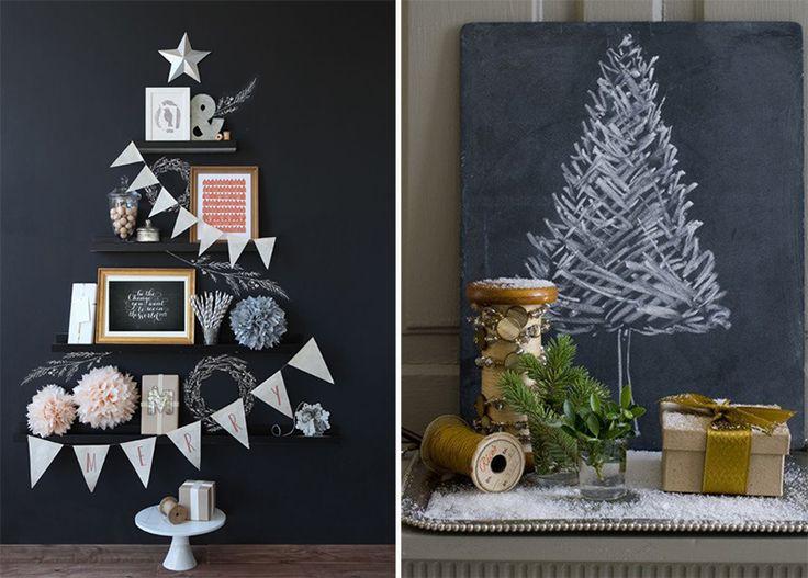 Inspiração: Árvores de Natal Diferentes
