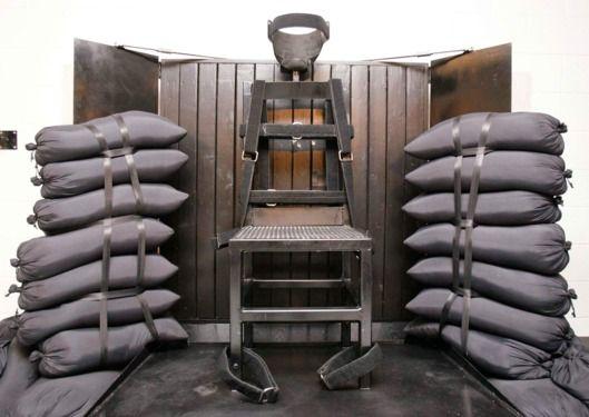 Execution by Firing Squad, Utah State Prison, Draper, Utah, 2010