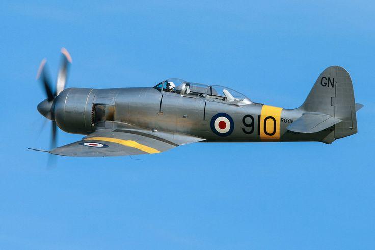 Hawker Sea Fury T.20 by Daniel-Wales-Images