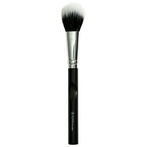 Crown Duo Fiber Brush (foundation) Brand new in plastic Makeup Brushes & Tools