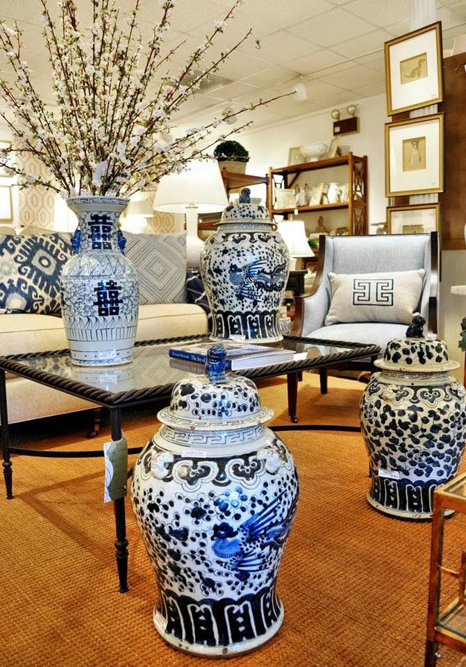 chinoiserie chic blue and - photo #7