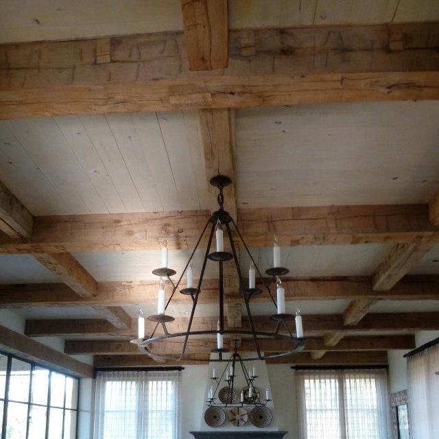 Antique Hand Hewn Ceiling Beams - 14 Best Images About Reclaimed Wood Beams On Pinterest Mantles