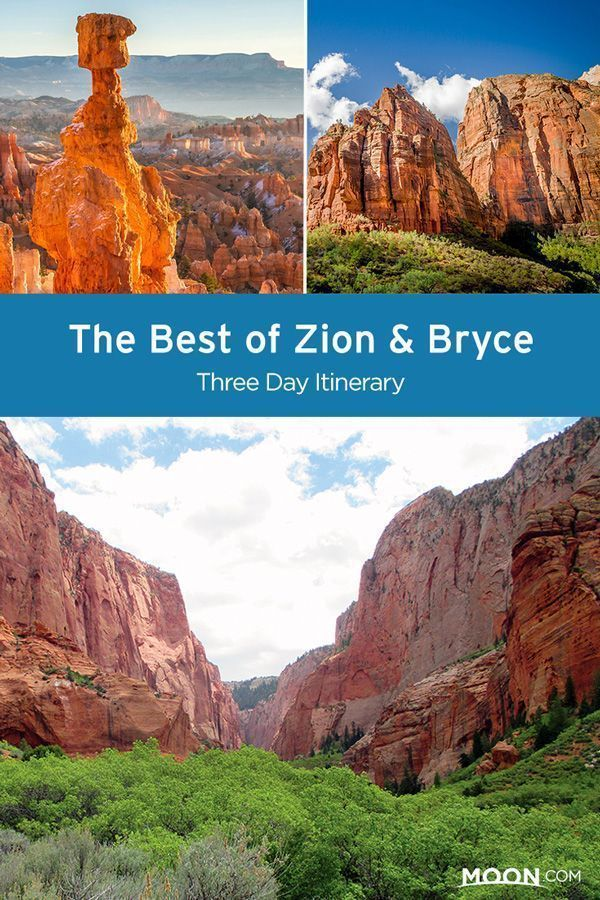 Best of Zion & Bryce Three Day Itinerary