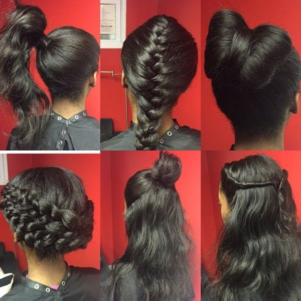 weave hair extensions styles this sew in is truly versatile black hair information 7585