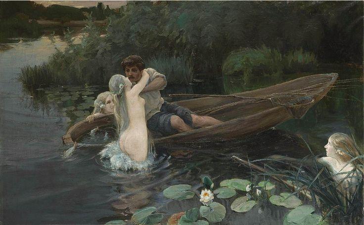 Дженеев Иван Алексеевич. Водные глубины. Омут