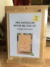 Native Stingless Bee Hive Kit - Build Yourself - COMPLETE KIT