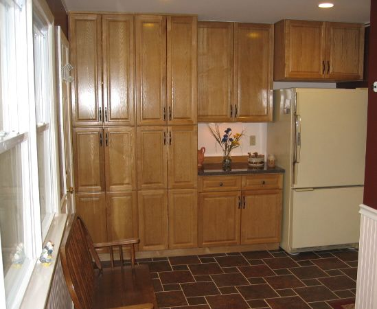 Floor To Ceiling Corner Laundry Room Cupboards Rta