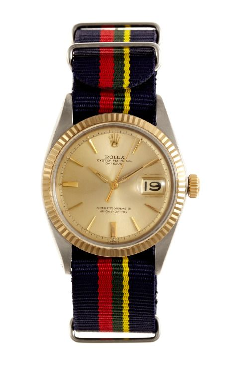 Shop 1965 Rolex Stainless Steel And Gold Datejust by CMT Fine Watch and Jewelry Advisors - Moda Operandi