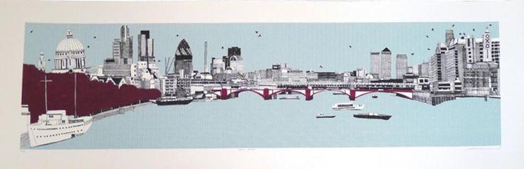Claire Halifax - London Panorama