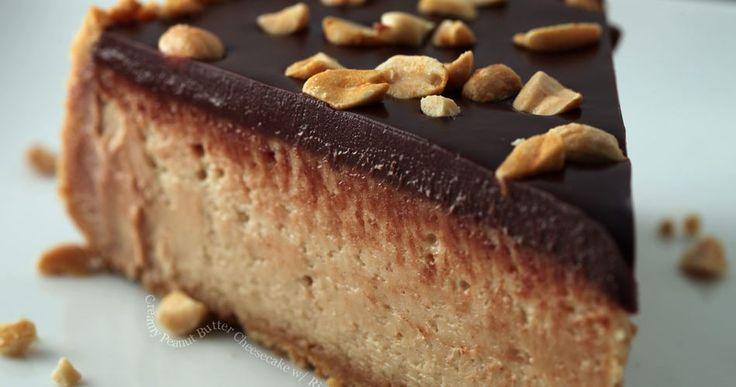 Cheesecake με φυστικοβούτυρο χωρις ψήσιμο