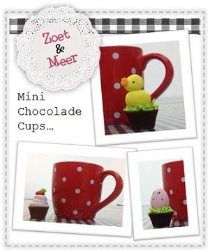 Mini Chocolade Cups....