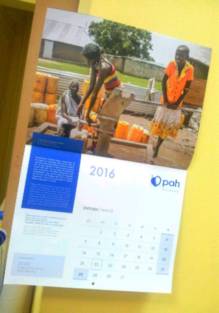 A tak wygląda kalendarz PAH na 2016 rok!