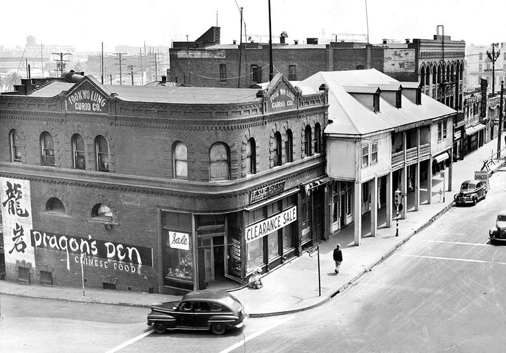 Photos los angeles chinatown then and now old buildings - Downtown at the gardens movie times ...