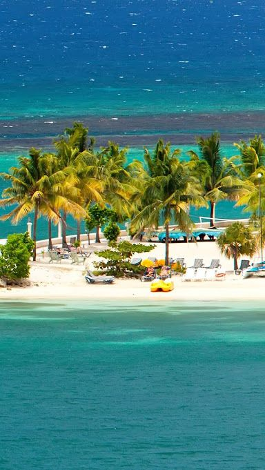 Ocho Rios is one of the beaches of Jamaica, Saint Ann Parish on the northern coast of Jamaica. Formerly a fishing village, but today is for tourism,Google+