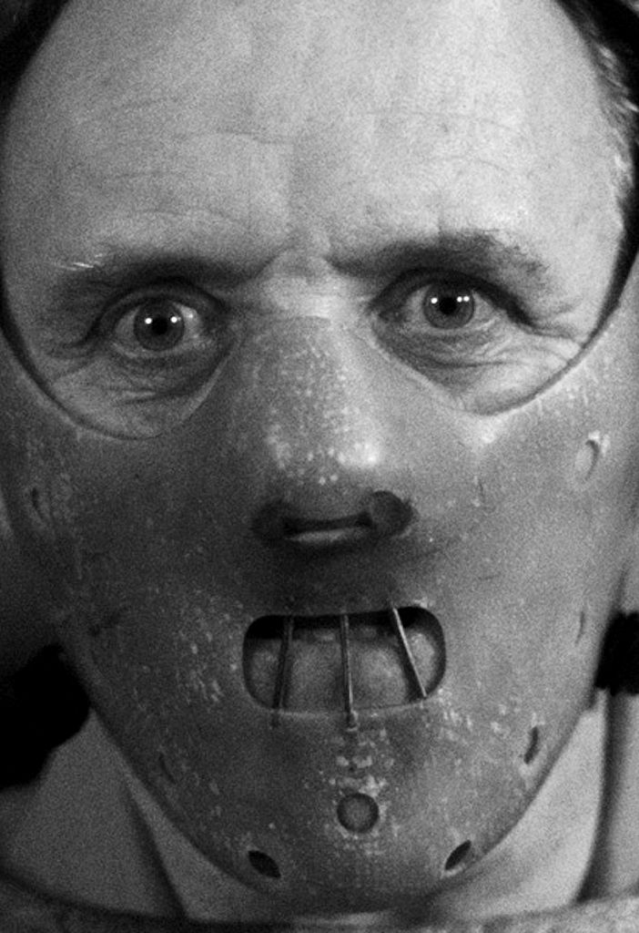 """Sir Philip Anthony Hopkins, CBE (31 December 1937 - ) as Dr. Hannibal Lecter in """"Silence of the Lambs"""", 1991, age 54"""