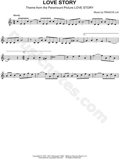 Print and download Love Story (Where Do I Begin) sheet music from Love Story arranged for Violin. Instrumental Solo in A Minor.