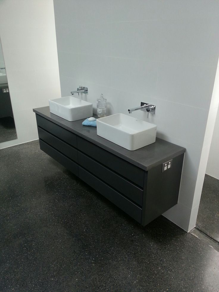 Concrete Vanity Tops : Images about polished concrete bathroom vanities on