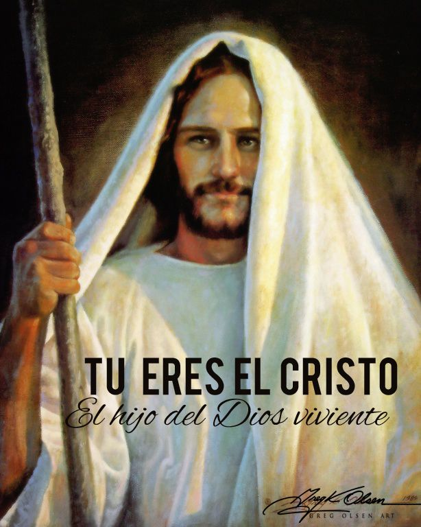 TU eres el Cristo, el hijo del Dios viviente: http://familias.com/gracias-a-el-la-humanidad-depende-de-este-hombre