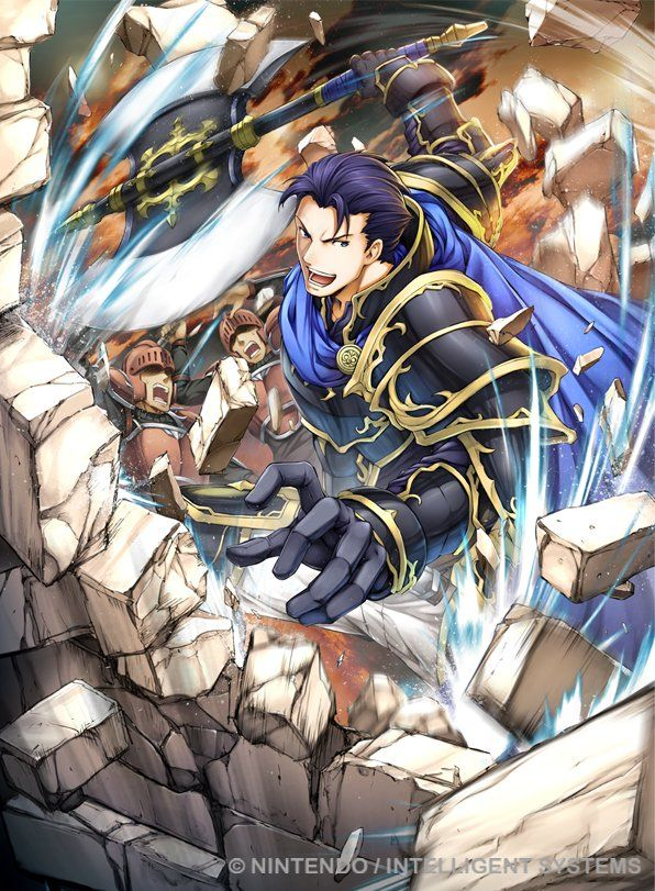 Hector from Fire Emblem Rekka no Ken